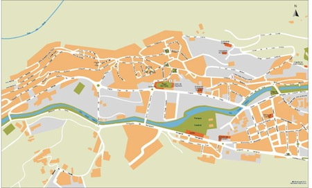 Andorra la Vella vector maps | Download Vector EPS Maps