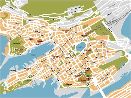 Download Bergen Vector Maps Illustrator Freehand Eps Digital - Norway map eps