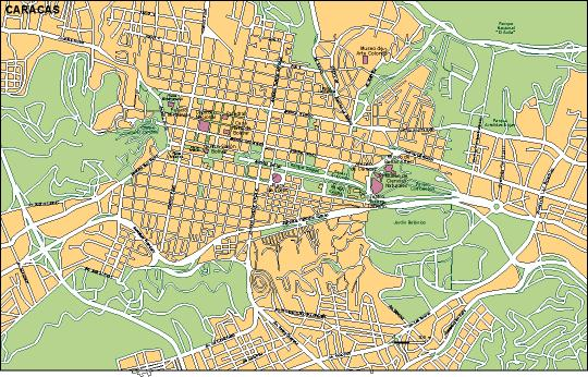 Download Caracas vector maps as digital file Purchase online our